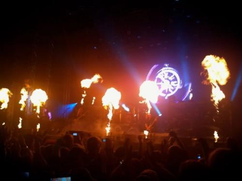 Nightwish pyrotechnics