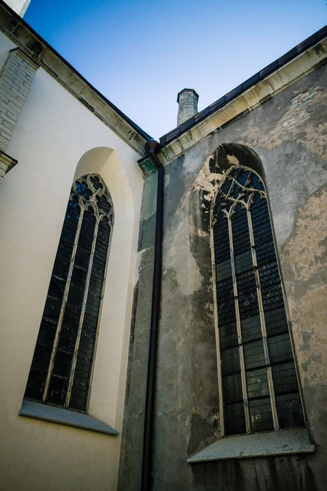 St. Olaf's church - edge of restoration