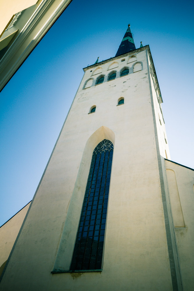 St. Olaf's church tower
